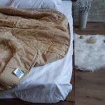 Одеяло лето ткань Микрофибра наполнитель Силикон 100грм/м2 - 195х210 (кофе)