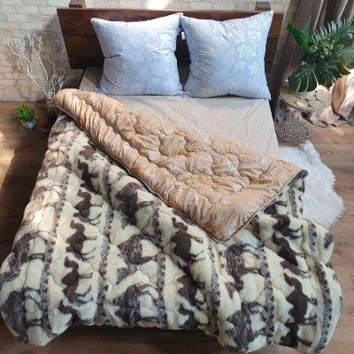 Одеяло Микрофибра верблюд плюс мех (Camel) - 145х210