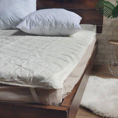 Наматрасник стеганый 140x200 см - Бязь Голд/Cotton - 150г/м2