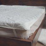 Наматрасник стеганый 180x200 см - Бязь Голд/Cotton - 150г/м2