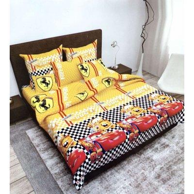 Полуторное постельное белье Бязь Gold - Макквин феррари