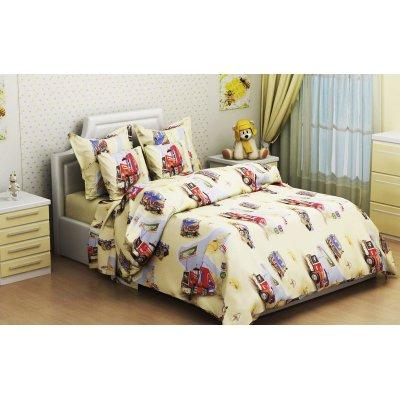 Детское постельное белье Бязь Gold - Париж Дакар песок