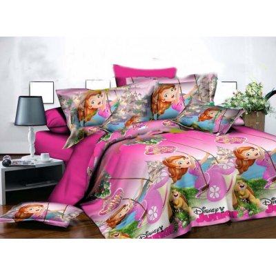 Детское постельное белье Бязь Ranforse - София на розовом (ranforse)