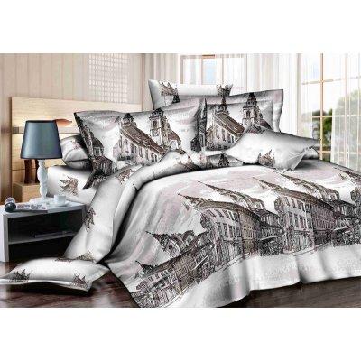 Семейное постельное белье Бязь Gold - Старинный город