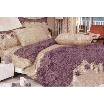 Семейное постельное белье Бязь Gold - Кофейный закат