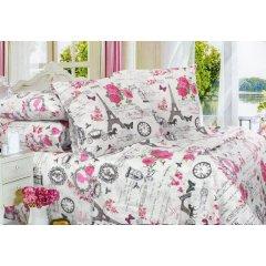 Двуспальное постельное белье Бязь Gold - Парижские пудели