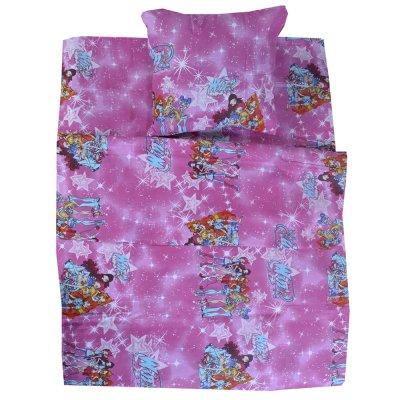 Детское постельное белье в кроватку - Бязь Gold - WINX