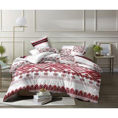 Семейное постельное белье Бязь Ranforse (100% хлопок) - Красавица украиночка