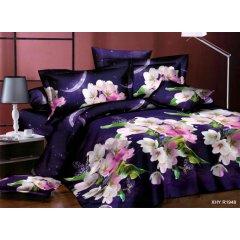 Двуспальное постельное белье Бязь Ranforse (100% хлопок) - Ночная сказка