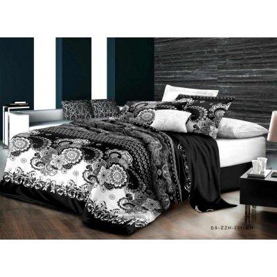Полуторное постельное белье Бязь Ranforse (100% хлопок) - Певония