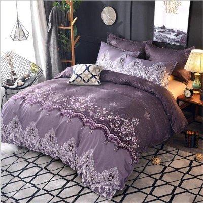 Семейное постельное белье Бязь Ranforse (100% хлопок) - Каскадия