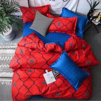 Семейное постельное белье Бязь Ranforse (100% хлопок) - Альпачи