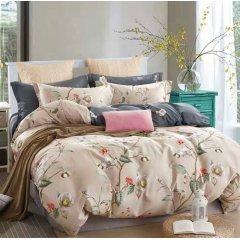 Полуторное постельное белье Бязь Ranforse (100% хлопок) - Фраголино