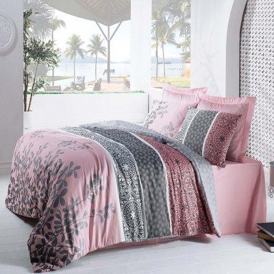Полуторное постельное белье Бязь Ranforse (100% хлопок) - Монтессори