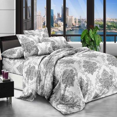Семейное постельное белье Бязь Ranforse (100% хлопок) - Сибирский вензель