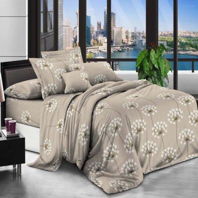 Двуспальное постельное белье Бязь Ranforse (100% хлопок) - Пустынный цветок