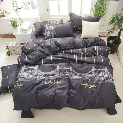 Двуспальное постельное белье Бязь Gold - Будапешт