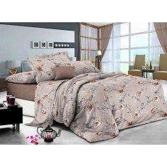 Полуторное постельное белье Сатин Люкс (100% хлопок) - KWL1930