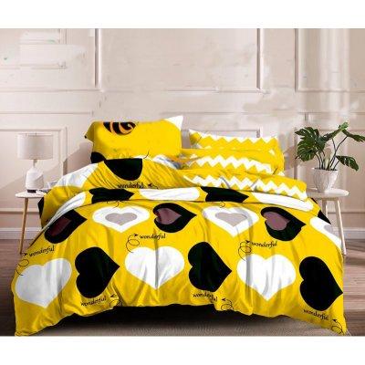 Двуспальное постельное белье Сатин Люкс (100% хлопок) - XHYQT-1559-800x800