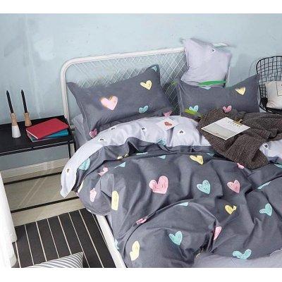 Двуспальное постельное белье Сатин Люкс (100% хлопок) - XHYQT-3279-800x800