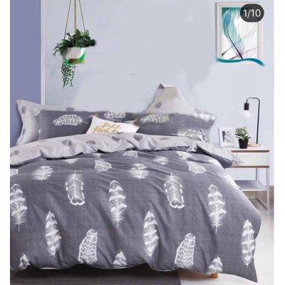 Семейное постельное белье Сатин Люкс (100% хлопок) - KWL1916 (50x70)