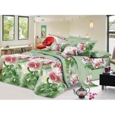 Семейное постельное белье София 3D (микросатин) - Лесной сад