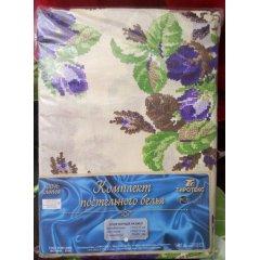 Молдавское полуторное постельное белье Бязь Tirotex - Вышивка