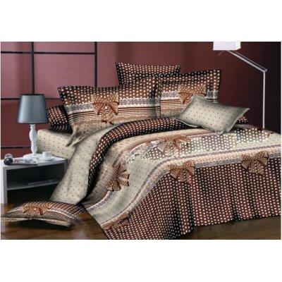 Молдавское полуторное постельное белье Бязь Tirotex - Бантик