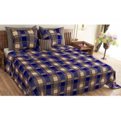 Молдавское полуторное постельное белье Бязь Tirotex - Квадраты