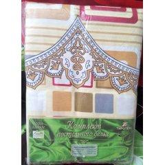 Молдавское двуспальное постельное белье Бязь Tirotex - Корона