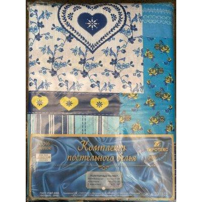 Молдавское полуторное постельное белье Бязь Tirotex - Бабушкины сны