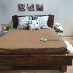 Простыня на резинке из Бязи Голд - Цвет кофе - 160х200 см