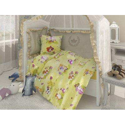 Постельное белье Бязь голд в кроватку - Домашние животные