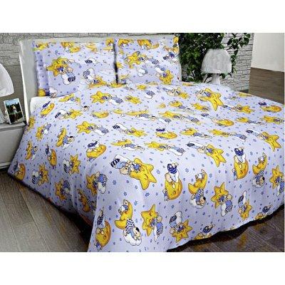 Постельное белье Бязь голд в кроватку - Спящие мишки