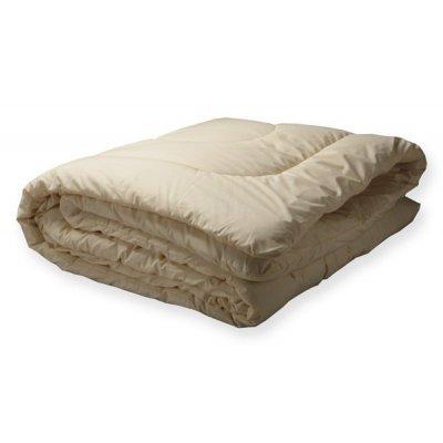 Шерстяное полуторное одеяло - ткань тик