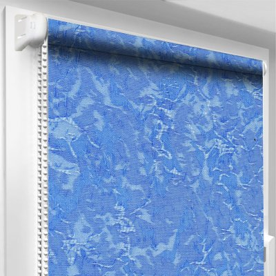"""Рулонная штора ТМ """"Oasis"""" Венеция - Голубой - 62.5 х 170 см"""