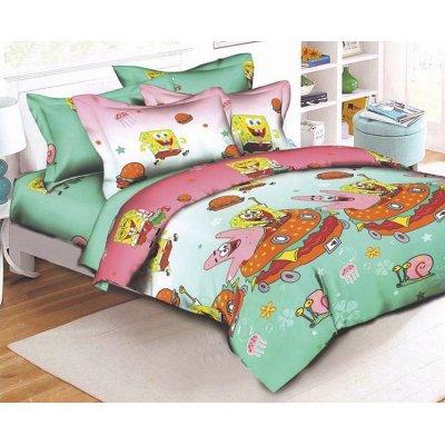 Детское постельное белье Бязь Ranforse - Спанч Боб