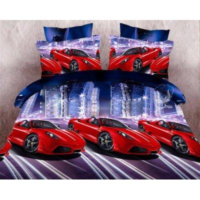 Детское постельное белье Бязь Ranforse - Ферари