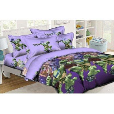 Детское постельное белье Бязь Ranforse - Черепашки ниндзя