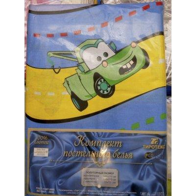 Детское постельное белье Бязь Гладь Тиротекс - The CARS