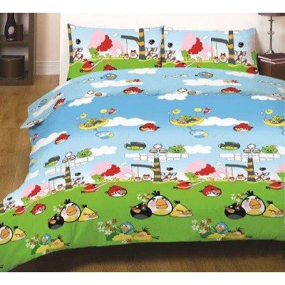 Детское постельное белье Бязь Голд - Angry Birds