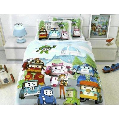 Детское постельное белье Бязь Голд - Спасатели Лего