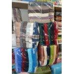 Набор полотенец для лица 6 шт. разные цвета - Турция