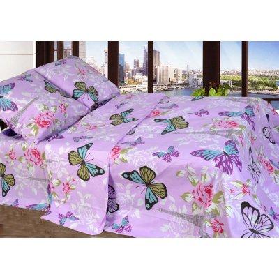 Семейное постельное белье Бязь Голд - Бабочки