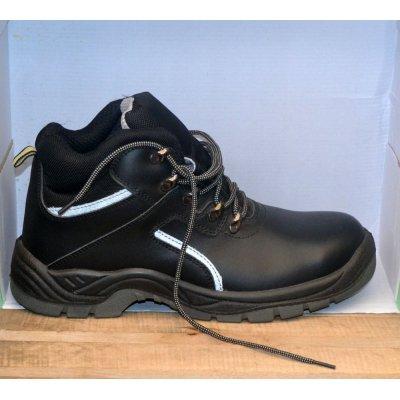 Оригинальные, кожаные ботинки со стальным носком REIS BRCPOL Польша