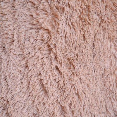 Меховое покрывало с длинным ворсом, Евро 220х240 - Цвет Песка