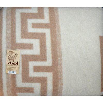 Плед Жаккардовый шерстяной «VLADI»  - Полуторный