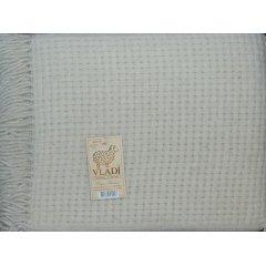 Плед шерстяной Рогожка «VLADI»  - Евро размер