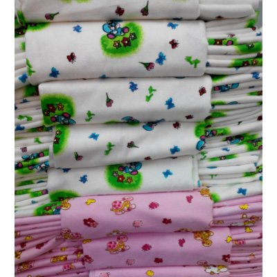 Пеленки из фланельки разных цветов размер 80х100