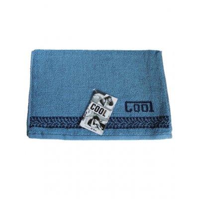 Полотенце махровое Cool, 35*70, модель Cool синий